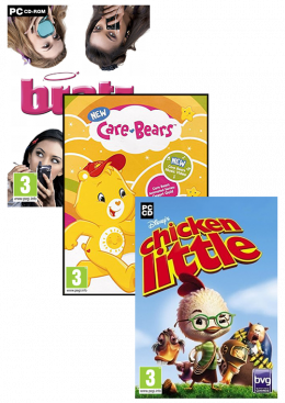 PC A7 (Chicken Little+Care Bears+Bratz 4 Real) Paket