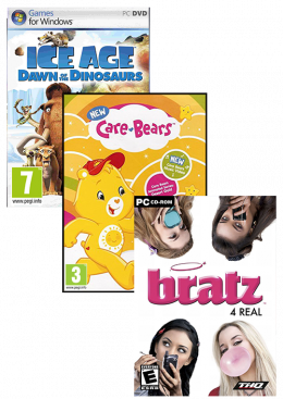 PC A11 (Ice Age 3+Care Bears+Bratz 4 Real) Paket