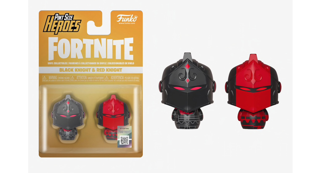 Fortnite Pint Size Heroes Black Knight & Red Knight