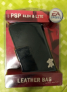 OUTLET Leather Bag Black for PSP EA Sport