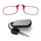 Keychain Low Power Glasses Red +1.50 (+1.25 - +1.75)