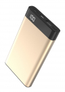 Xipin Power Bank T13 Gold, 10000mAh, QC