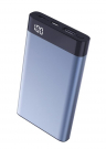 Xipin Power Bank T13 Blue, 10000mAh, QC