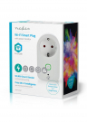 Nedis Smart Plug | Power Monitor | Schuko Type F | 16A | Wi-Fi
