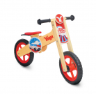 Yugo Wooden Balance Bike Red