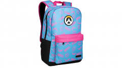 Overwatch D.Va Splash Backpack Blue/Pink