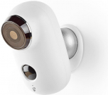 Nedis Rechargeable IP Camera | Outdoor | PIR Motion Sensor | microSD | 6000 mAh