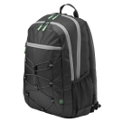 HP ranac Active Backpack 15.6 Case Black (1LU22AA)