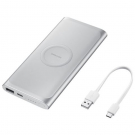 Samsung Power Bank 10000mah Wireless - Silver
