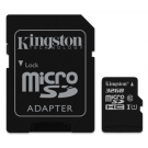 Micro SD Card 32GB Kingston + SD adapter SDCS2/32GB class 10