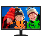 Monitor 23.6' Philips 243V5LHAB/00 LED VGA/DVI/HDMI/Zvučnici